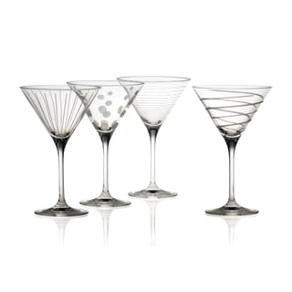 Mikasa Cheers Martini Glasses (Set of 4)