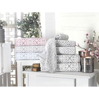 Glamour Turksh Cotton Wash Cloth (Set of 8) - Washcloths 12 x 12