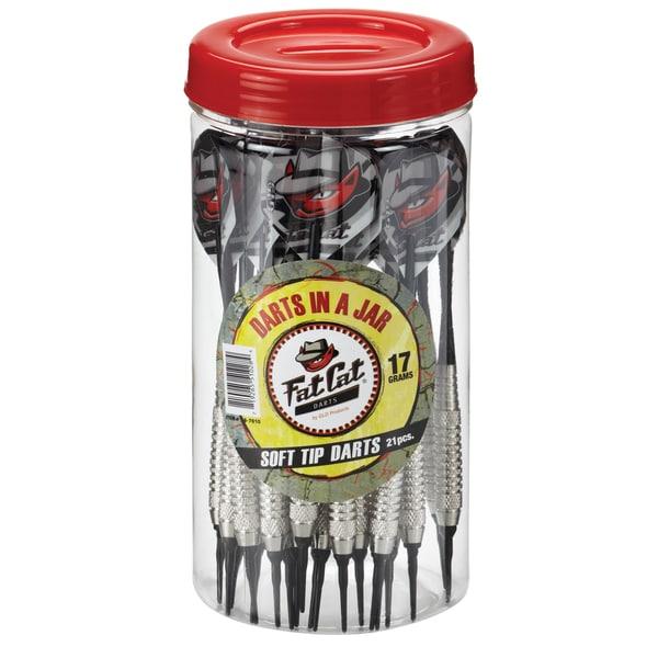 Fat Cat Soft-tip 17-gram Darts in a Jar