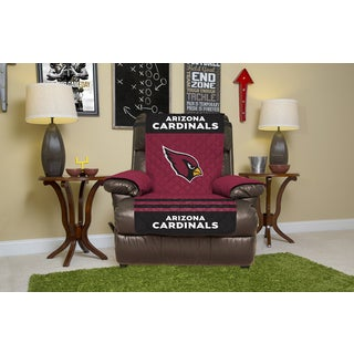 Licensed NFL Arizona Cardinals Multicolored Polyester Licensed Recliner Protector