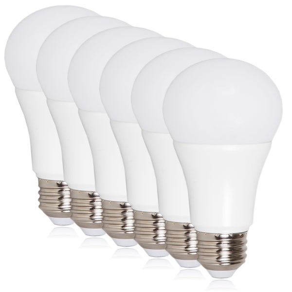 A19 LED 800-lumens 10-watt Light Bulbs (6 Pack)