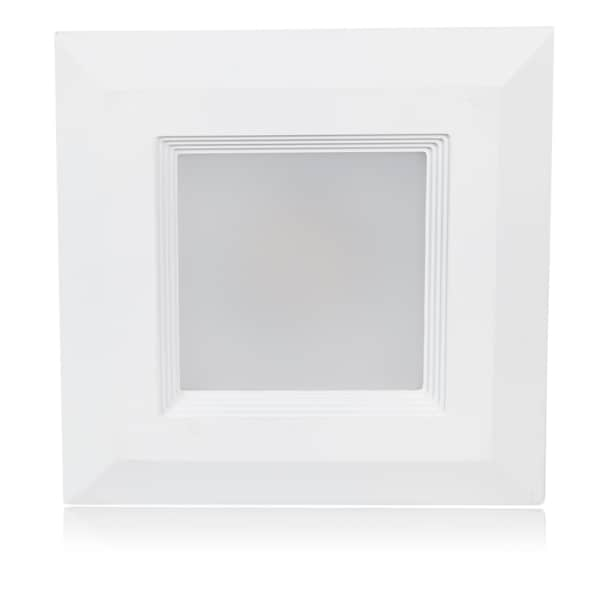 Maxxima LED Retrofit 3000K Warm White 6 Inch Square 1050 Lumens Downlight