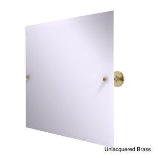 Allied Brass Shadwell Collection Frameless Rectangular Beveled-edge Tilting Mirror
