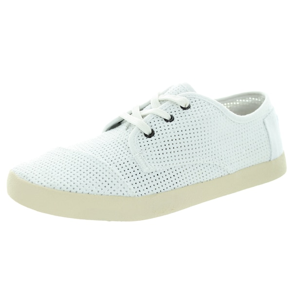 Toms Women's Paseo Perf White Perf Casual Shoe