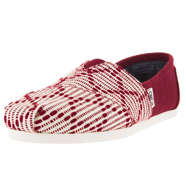 Toms Women's Classic Red Casual Shoe