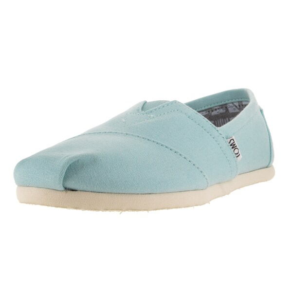 Toms Women's Classic Canal Blue Casual Shoe