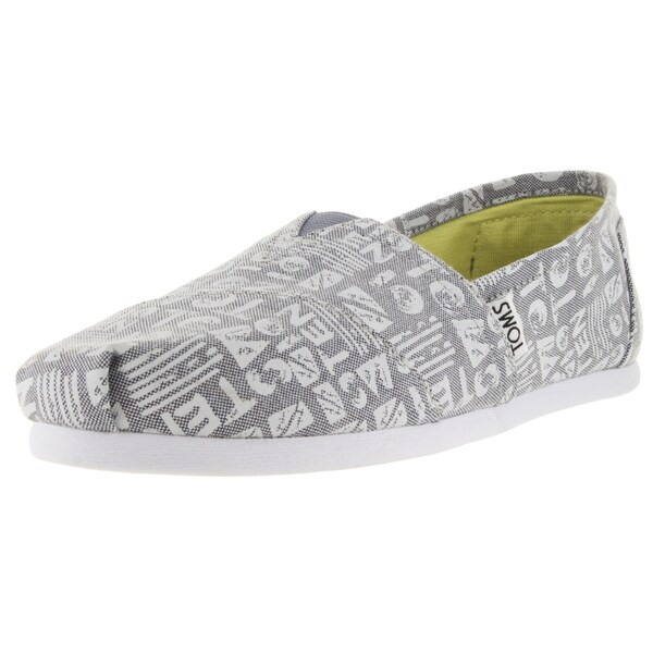 Toms Women's Classic Grey Chambray Casual Shoe