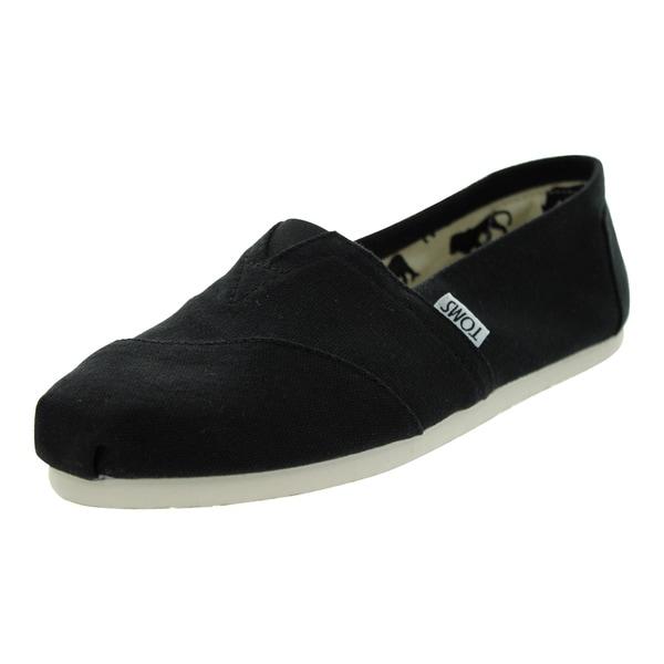 Toms Classics Casual Shoes (Black Canvas)