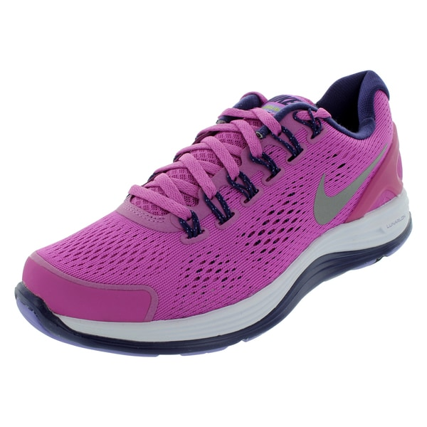 Nike Lunarglide 4 (Gs) Running Shoes (Viola/Reflrct Silver/Night Blue)