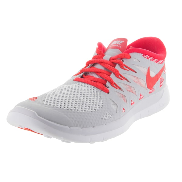 Nike Kids Free 5.0 (Gs) Pure Platinum/White Running Shoe