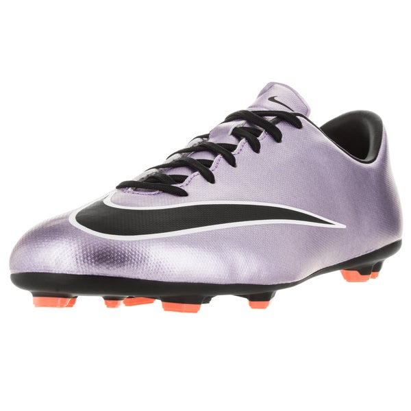 Nike Kids Jr Mercurial Victory V Fg Urban Lilac/Black/Brightt Magenta/White Soccer Cleat