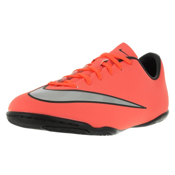 Nike Kids Jr Mercurial Victory V Ic Brightt Magenta/Metallic Silver/ Trq Soccer Cleat