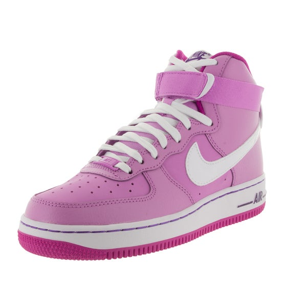 Nike Kids Air Force 1 High (Gs) /White Basketball Shoe