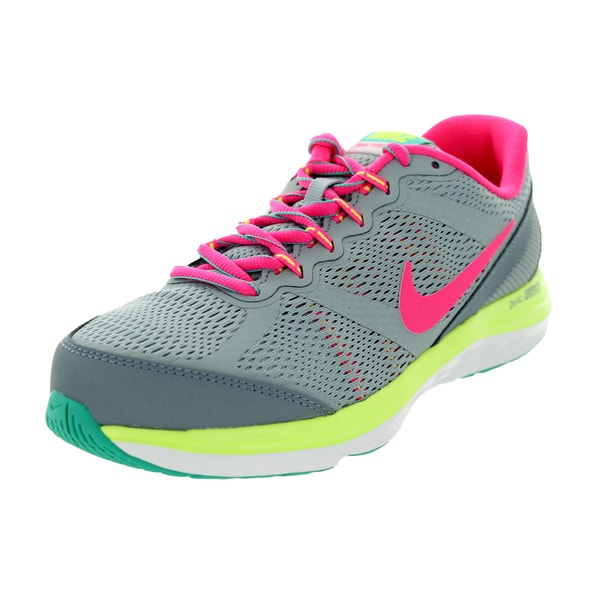 Nike Kids Dual Fusion Run 3 (Gs) Lt Magenta /Pink/ Jd/V Running Shoe