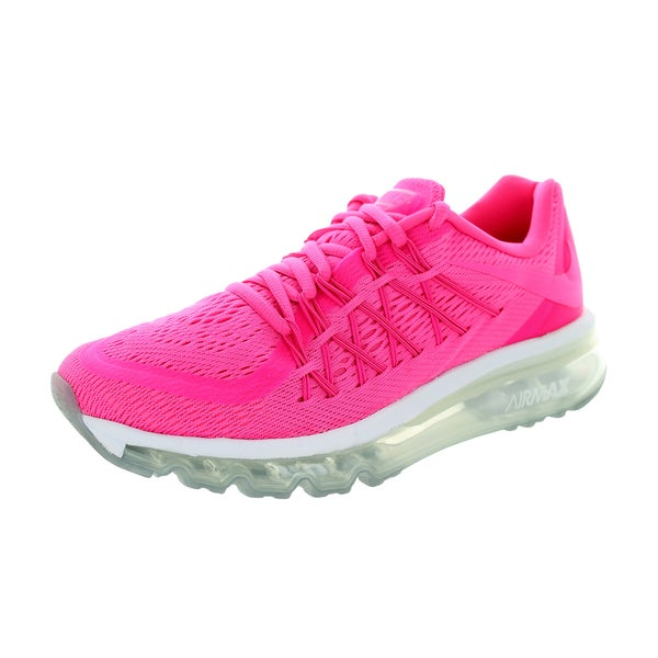Nike Kids Air Max 2015 (Gs) Pink Pow/Pink Pow/Vvd Pink/White Running Shoe