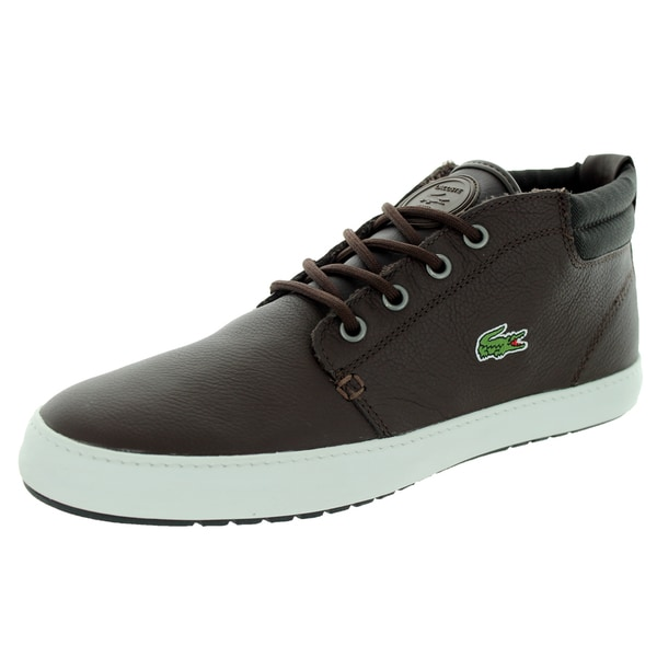 Lacoste Men's Ampthill Terra Twd2 Spm Dark Brown/Dark Brown Casual Shoe
