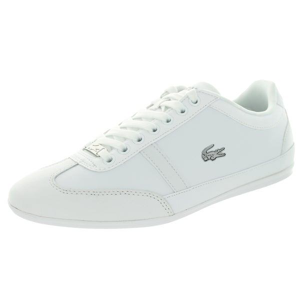Lacoste Men's Misano Sport Croc Spm White/White Casual Shoe