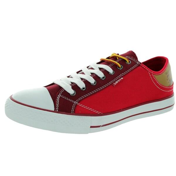 Levi's Men's Stan Buck Hiker Red/Burgundy Casual Shoe