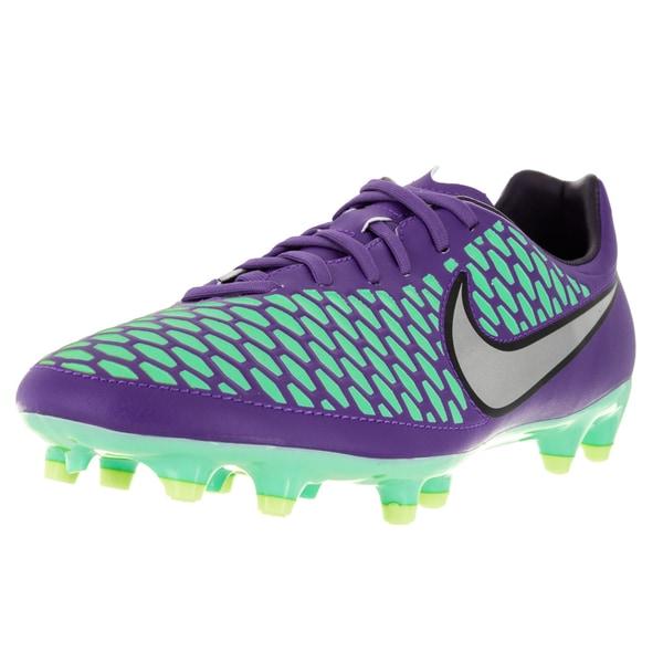Nike Men's Magista Onda Fg Hyper Grape/Metallic Silver/Purple Soccer Cleat