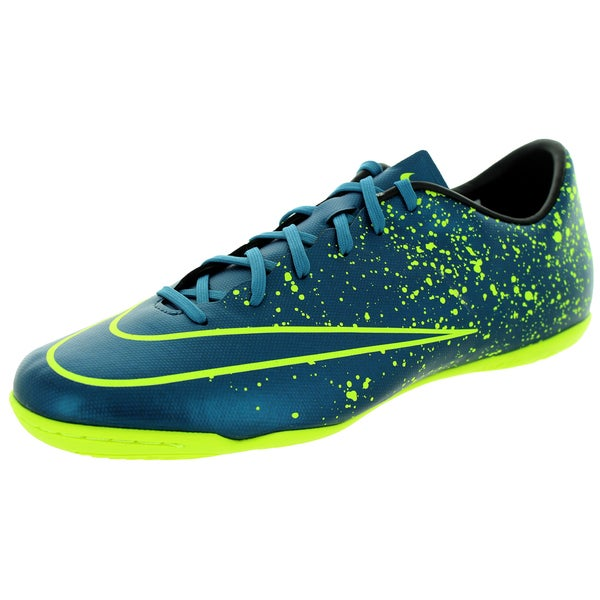 Nike Men's Mercurial Victory V Ic Squadron Blue/Blue/Black/Black Indoor Soccer Shoe