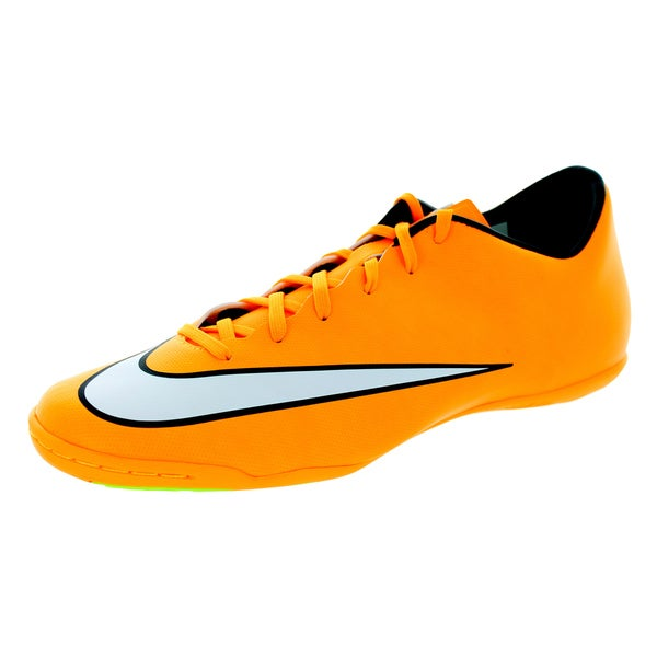 Nike Men's Mercurial Victory V Ic Laser Orange/White/Black/Volt Indoor Soccer Shoe 19860361