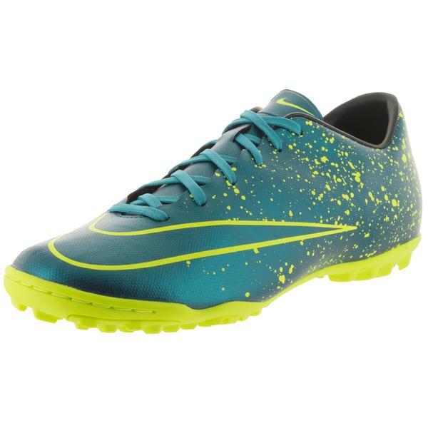 Nike Men's Mercurial Victory V Tf Squadron Blue/Sqdm Bl/Black/Vlt Turf Soccer Shoe