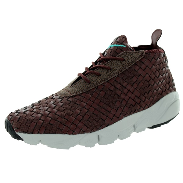 Nike Men's Air Footscape Desert Chukka Brkrt Brown/ Jd/Lght Ash Gr Casual Shoe