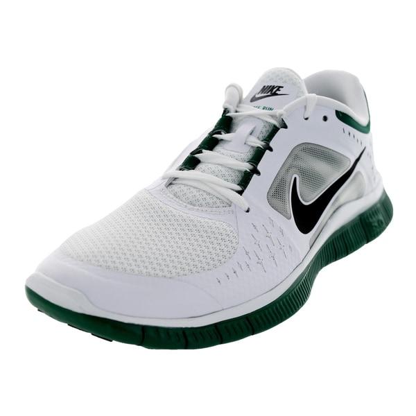 Nike Men's Free Run 3 Nsw White/Black/Legion Pine Running Shoe
