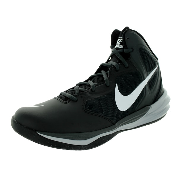Nike Men's Prime Hype Df Black/White/Anthracite/Dark Grey Basketball Shoe