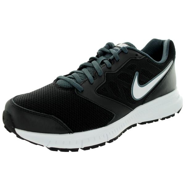 Nike Men's Downshifter 6 Black/White Magnet Grey Running Shoe