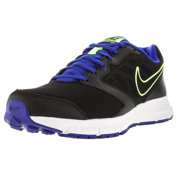 Nike Men's Downshifter 6 Black/Black/Racer Blue/Volt Running Shoe