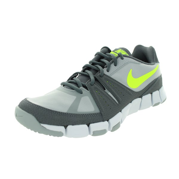 Nike Men's Flex Show Tr 3 Wolf Grey/Volt/Dark Grey/White Training Shoe