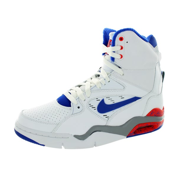 Nike Men's Air Command Force White/Lyn Bl/Brgh/Wlf G Basketball Shoe