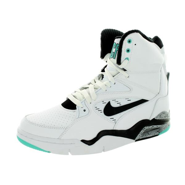 Nike Men's Air Command Force White/Black/Wolf Grey/ Jd Basketball Shoe