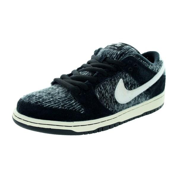 Nike Men's Dunk Low Warmth Black/Ivory/Black/Hyper Grape Skate Shoe