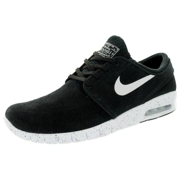 Nike Men's Stefan Janoski Max L Black/White Skate Shoe