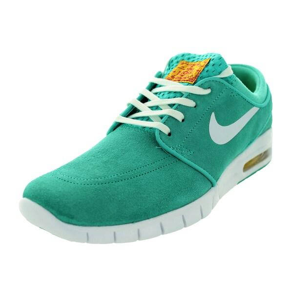 Nike Men's Stefan Janoski Max L Hyper Jd/White/Tr Yellow/Fsn Pink Skate Shoe