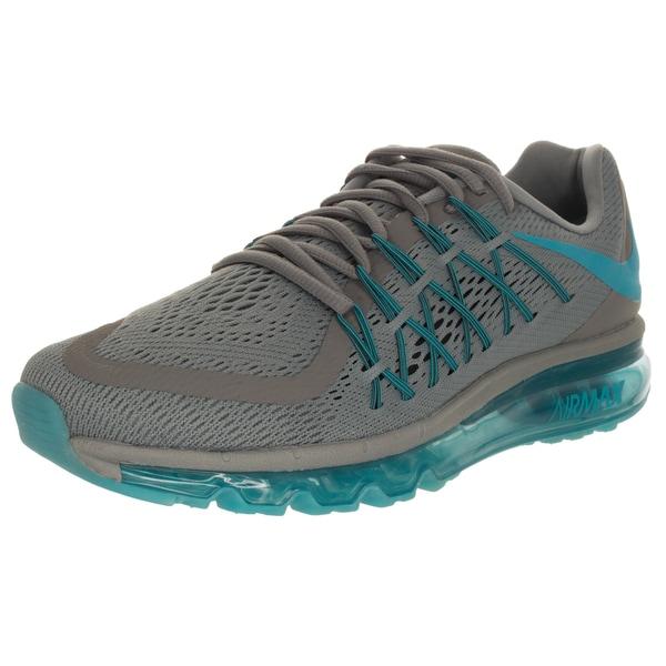Nike Men's Air Max 2015 Cool Grey/Blue Lagoon/Black Running Shoe
