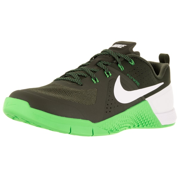 Nike Men's Metcon 1 Cargo Khaki/White/Green Strike Training Shoe