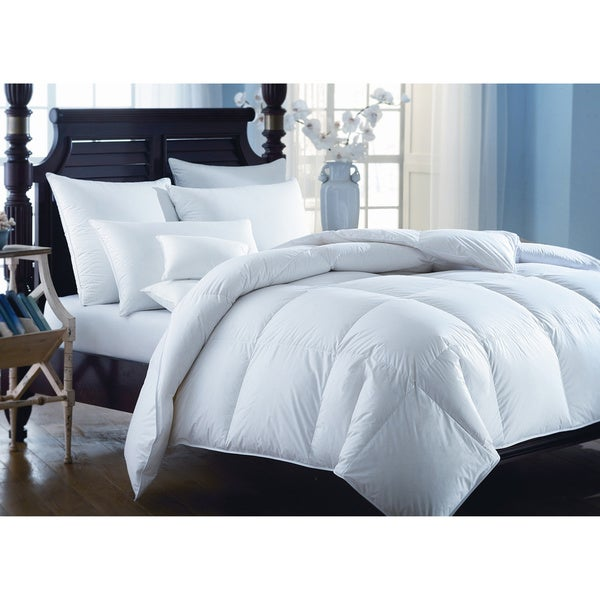 European Heritage Down Opulence All Year Weight White Goose Down King Size Comforter (As Is Item)