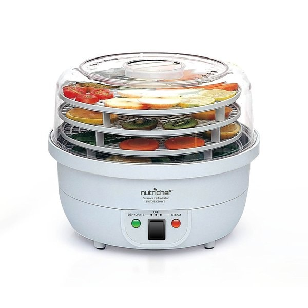 NutriChef 3-in-1 Dehydrator & Steamer Food Cooker 19862213