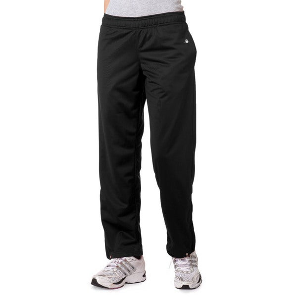 Brushed Women's Tricot Pants Black
