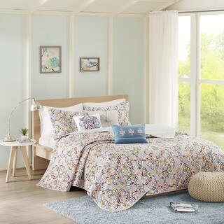 Madison Park Tesimo Multi Quilted 6-piece Coverlet Set