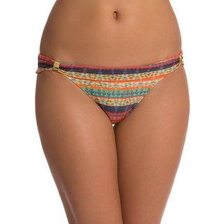 Vix Potira Multicolor Blanket-stripe Teeny-cut Bikini Bottom