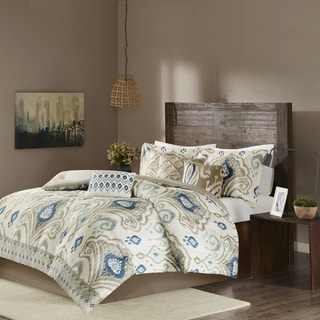 Madison Park Sabina Taupe 7-piece Comforter Set