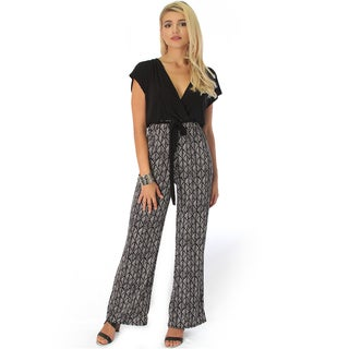Women's V-Neck Jumpsuit