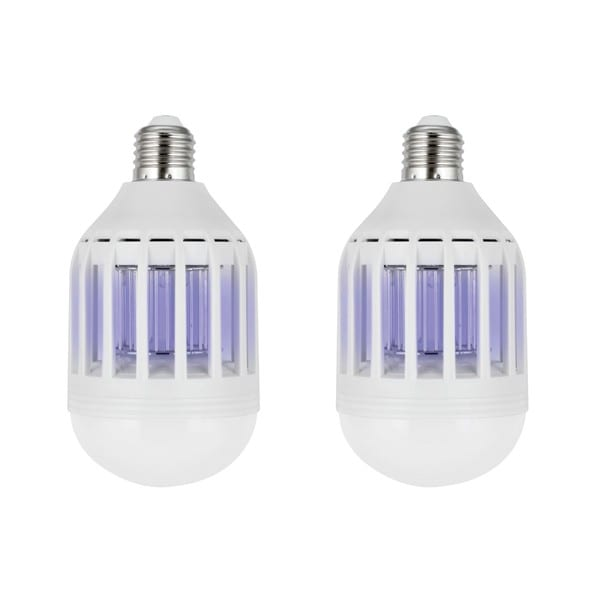 ZapBulb 2-in-1 Mosquito Zapper & LED Light Bulb (Set of 2)