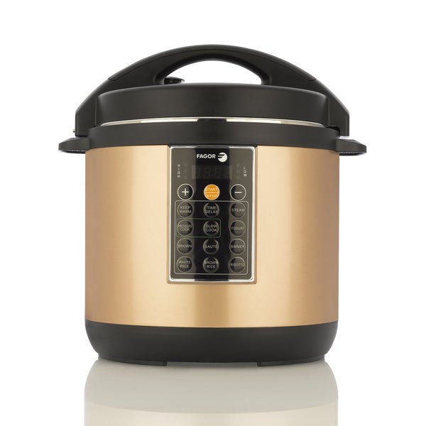 LUX 6-quart Copper Color Multicooker