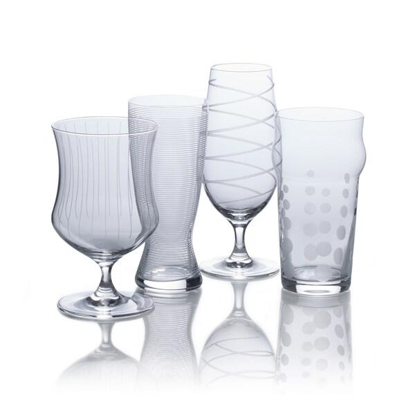 Mikasa Cheers Craft Beer Varietal Glasses Set Of 4