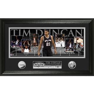 "Tim Duncan ""Retirement"" Silver Coin Photo Mint"